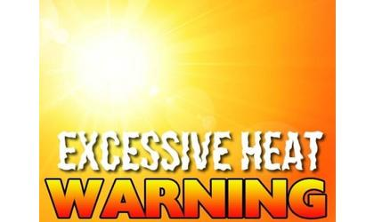 Excessive heat warnings in effect for Oklahoma and Arkansas