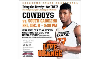 Donor provides free OSU basketball tickets