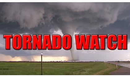 Tornado Watch issued for Kay County until 10 p.m. Friday