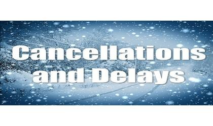 Weather cancellations, closings and delays