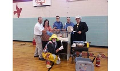 Firefighters Teach Children Fire Safety