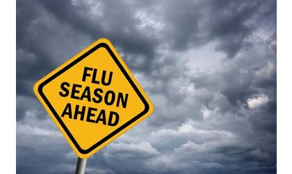 First flu death in Kay county
