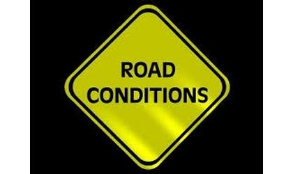 Highway  conditions alert as of 5 a.m. Wednesday