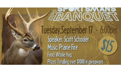 Sportsman Expo Banquet In Ponca City