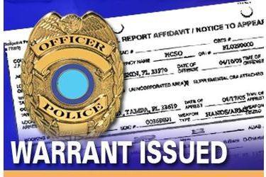 Outstanding warrants in Ponca City