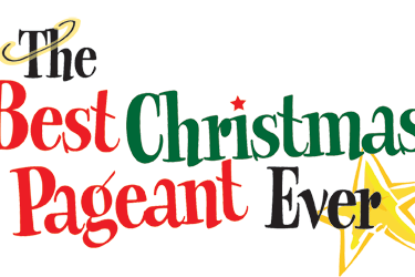 And the poncan theatre present the best christmas pageant ever
