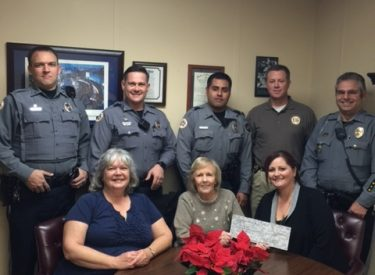 Local Realtors Honor Police Donate Shop With A Cop Funds