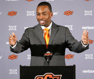 New Oklahoma State coach Boynton, 35, says he's ready