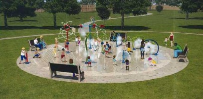 Commissioners approve splash pad contract for Young Park
