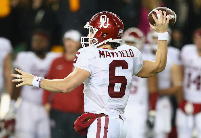 QB Baker Mayfield will practice with Sooners this spring