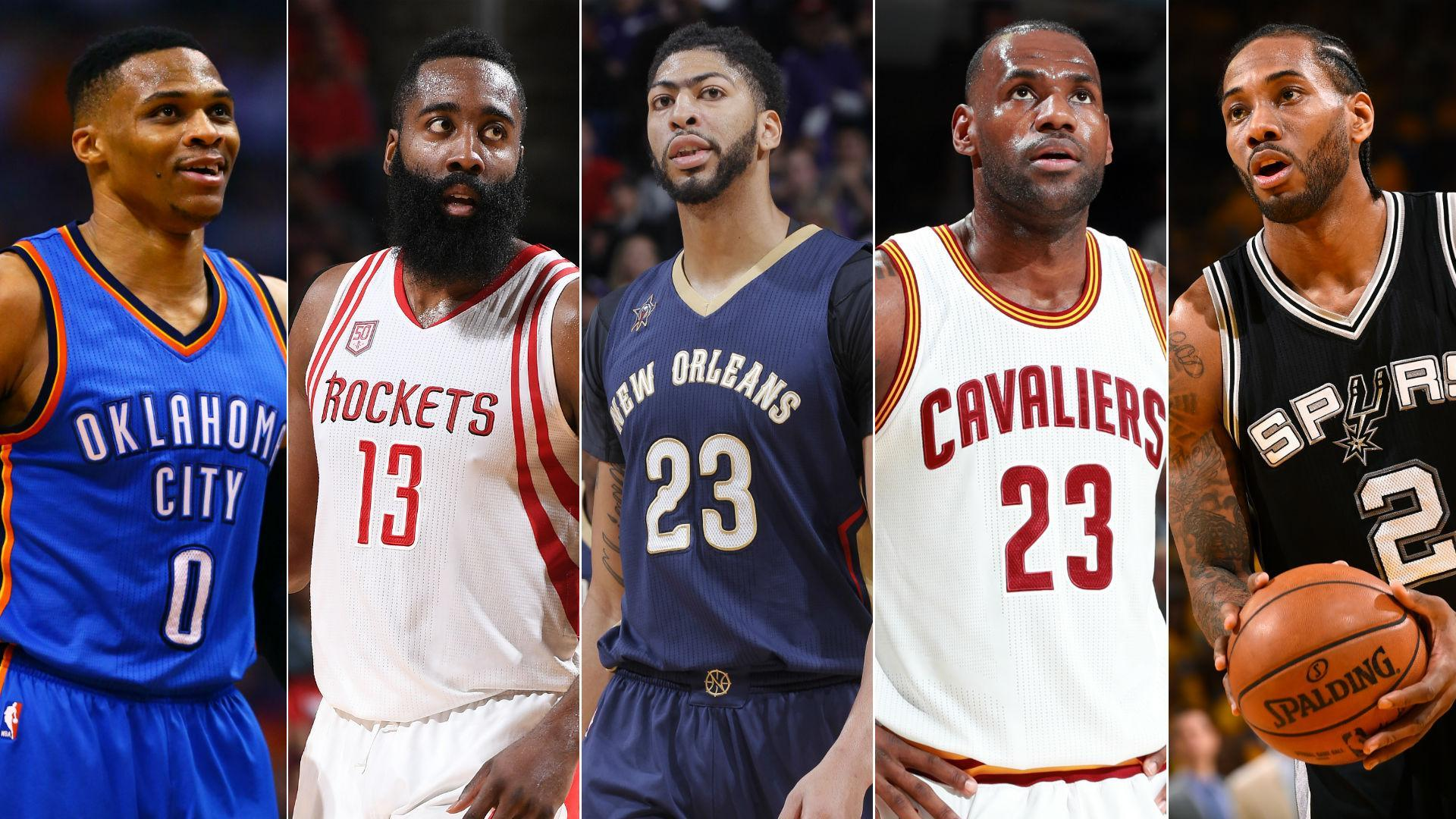 Harden, James headline All-NBA first team