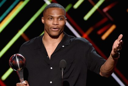Westbrook wins best male athlete at The ESPYs