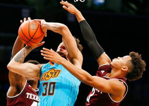 Williams leads Texas A&M over Oklahoma State