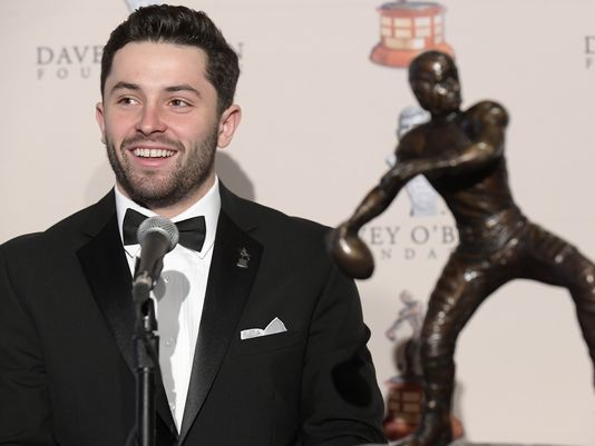 Mayfield doesn't like comparisons to Manziel