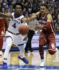 Jayhawks take control of Sooners 104-74