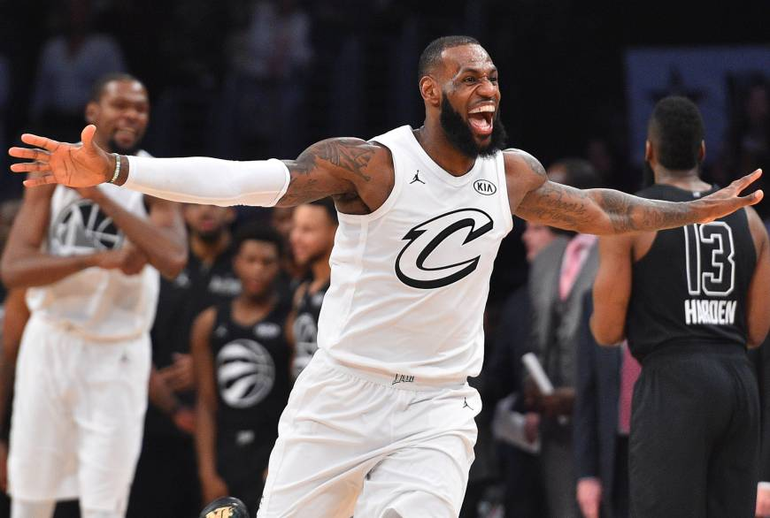 Team LeBron edges out Team Stephen in All-Star Game