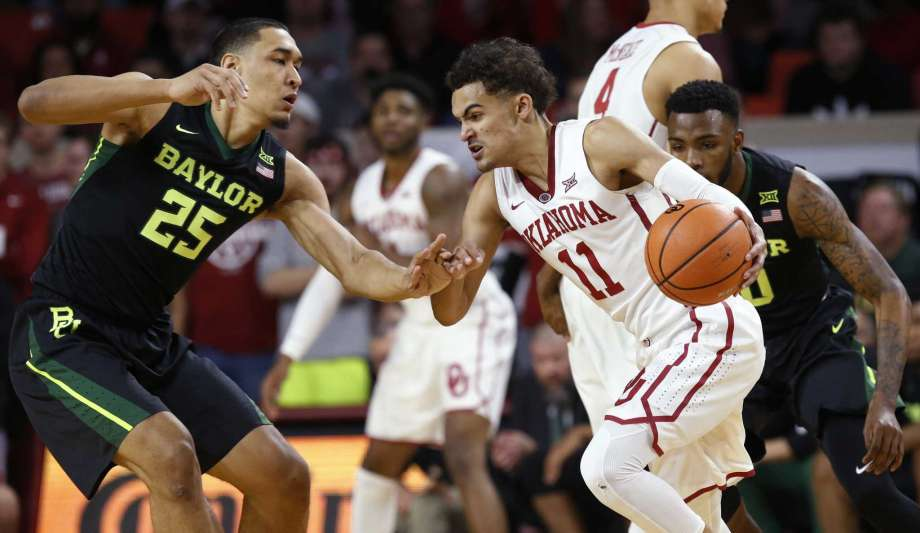 Young's 44 points help Oklahoma beat Baylor 98-96