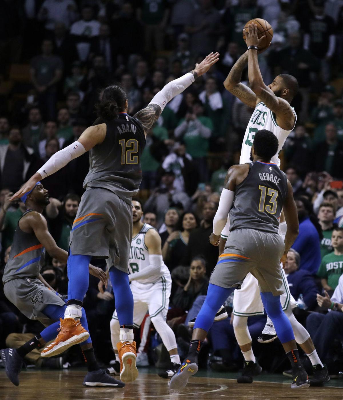 1-point loss to Celtics stuns Thunder