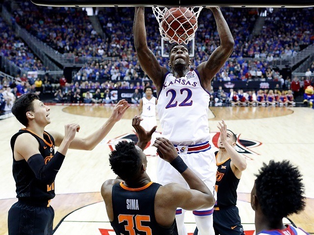 Jayhawks reach Big 12 semifinals with win over Oklahoma State