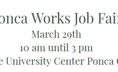 Ponca city employment