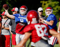 Oklahoma to start planning for Mayfield's replacement