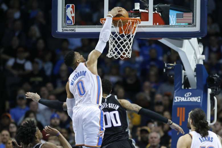 Westbrook claims 20th triple-double of season
