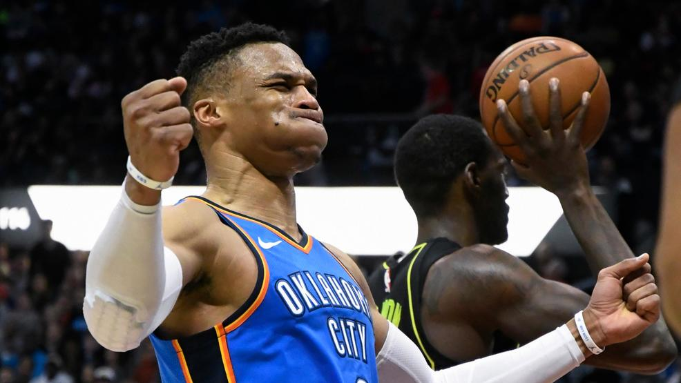 Westbrook joins elite club with 100th triple-double of his career