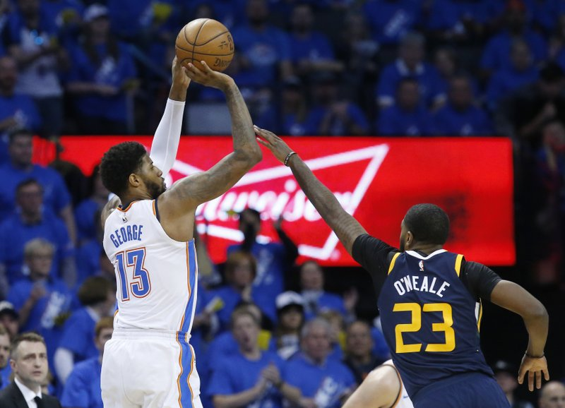 Paul George on a roll heading into playoffs