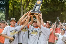 Oklahoma State wins 11th national golf title, overwhelming Alabama