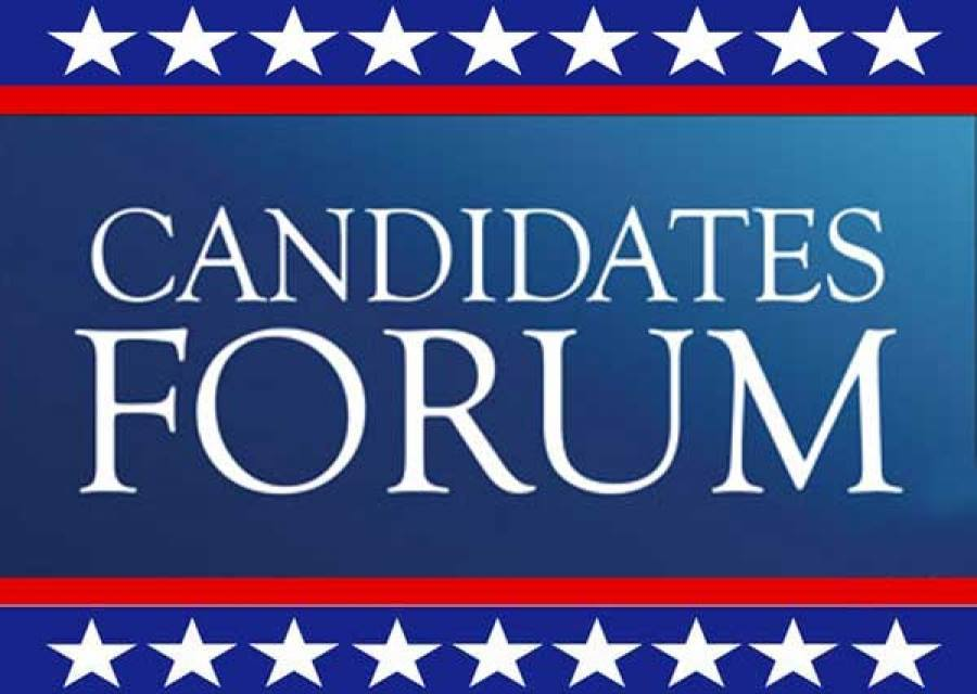 Watch the candidate forum