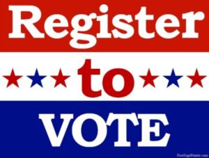 Today's the deadline to register to vote for Ponca City Special Election