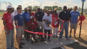 Arkansas town gets new baseball complex 21 years after tornado