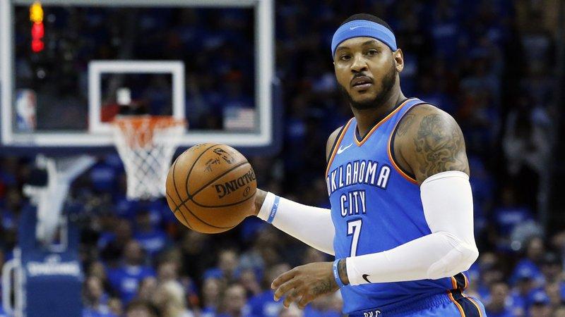 Hawks waive Carmelo Anthony