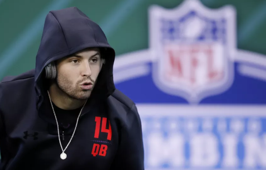 Mayfield says he's not nervous about NFL debut