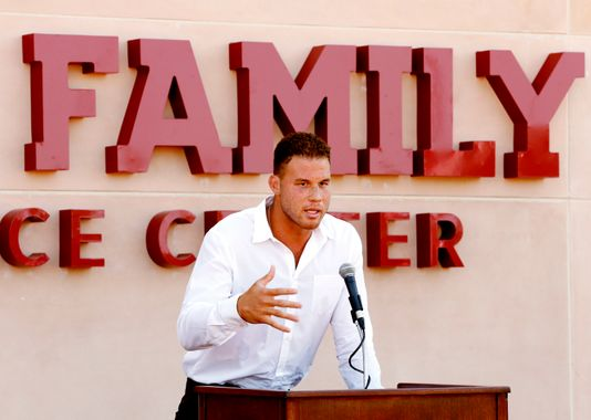 Griffin returns to OU for dedication of Performance Center