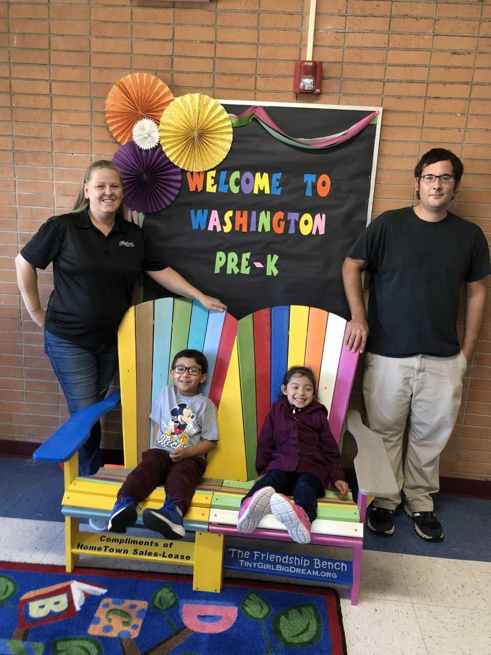 Prekindergarten Center receives Friendship Bench