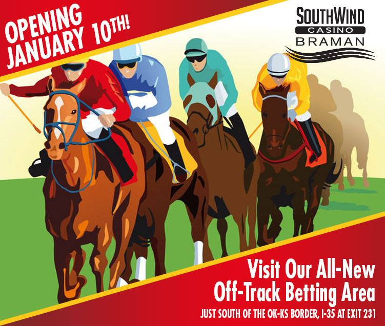 SouthWind Braman opening Off-Track Betting room