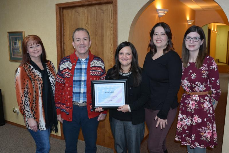 Security Title named Chamber's business partner for January