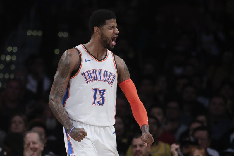 Paul George has shoulder surgery