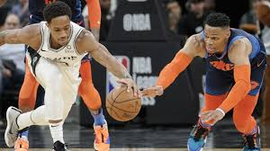 Spurs overcome Westbrook's triple double, scoring 154-147