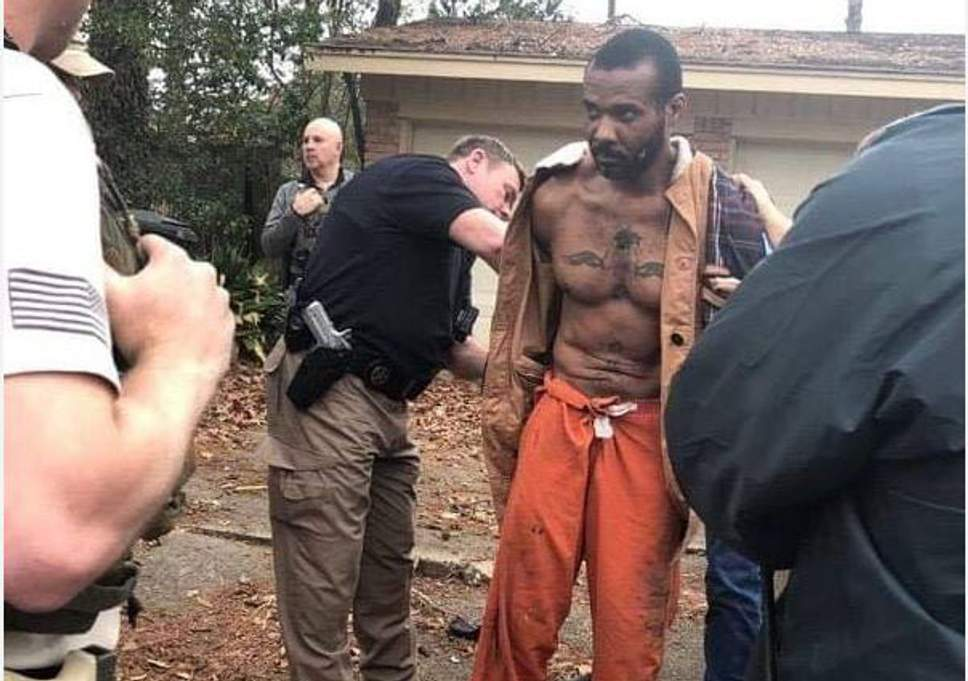 MMA fighter captured after escaping in Texas