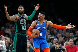 Celtics snap Thunder's winning streak