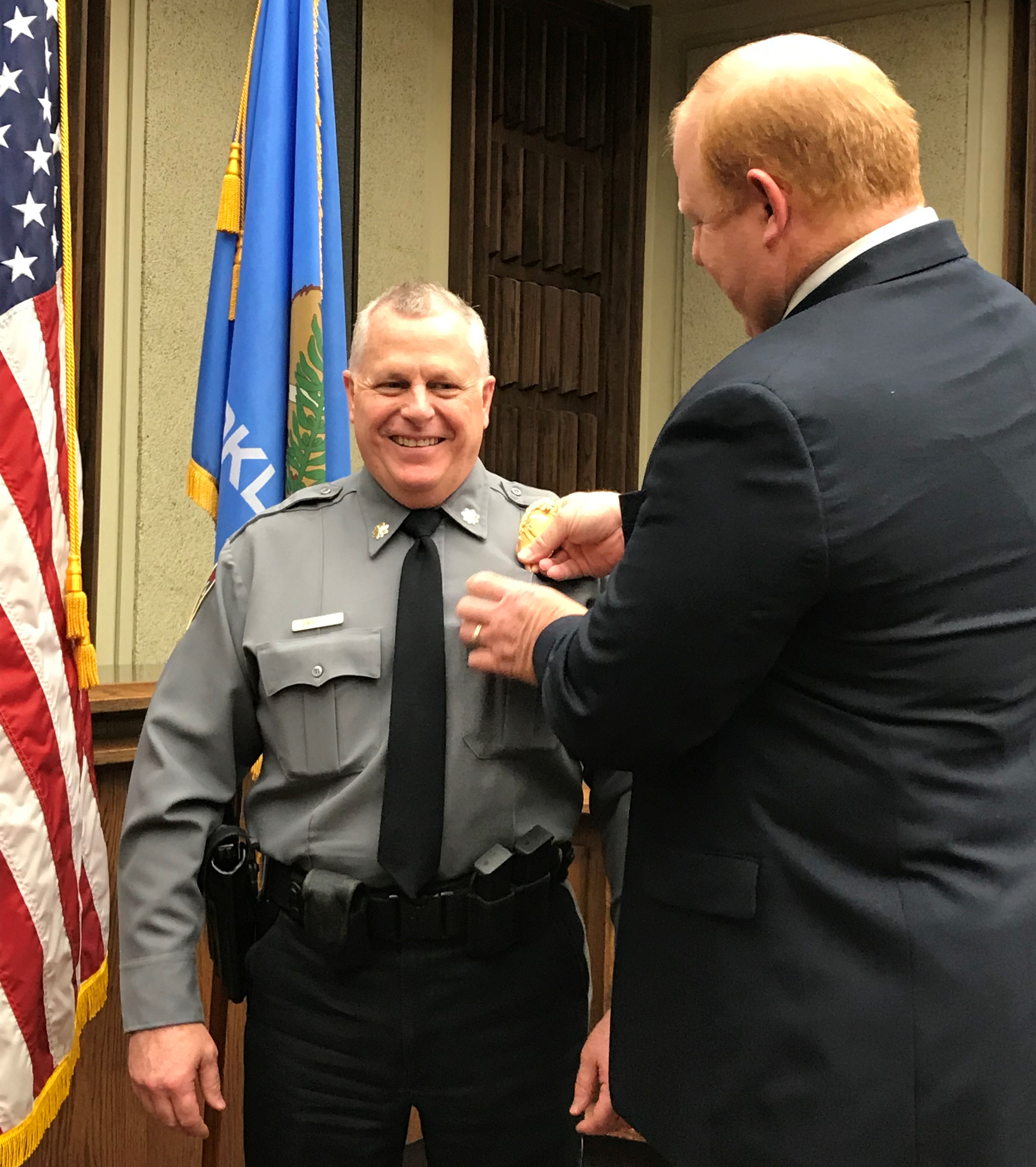 Richard Evans becomes Deputy Chief of Police