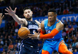 Westbrook records seventh straight triple-double; Thunder defeats Orlando Magic