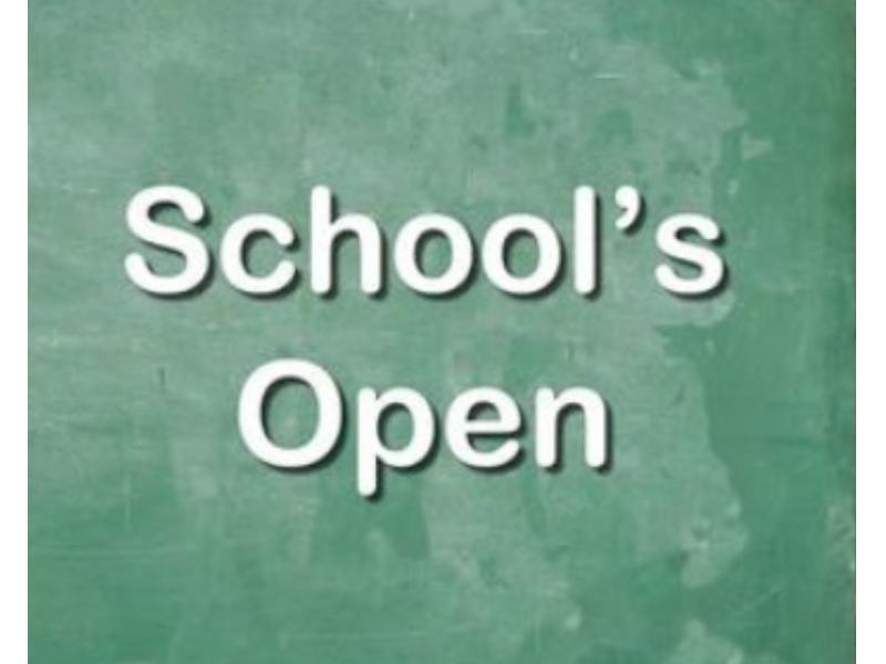 Ponca City Schools open today
