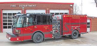Arkansas City Fire-EMS to celebrate new fire engine Saturday