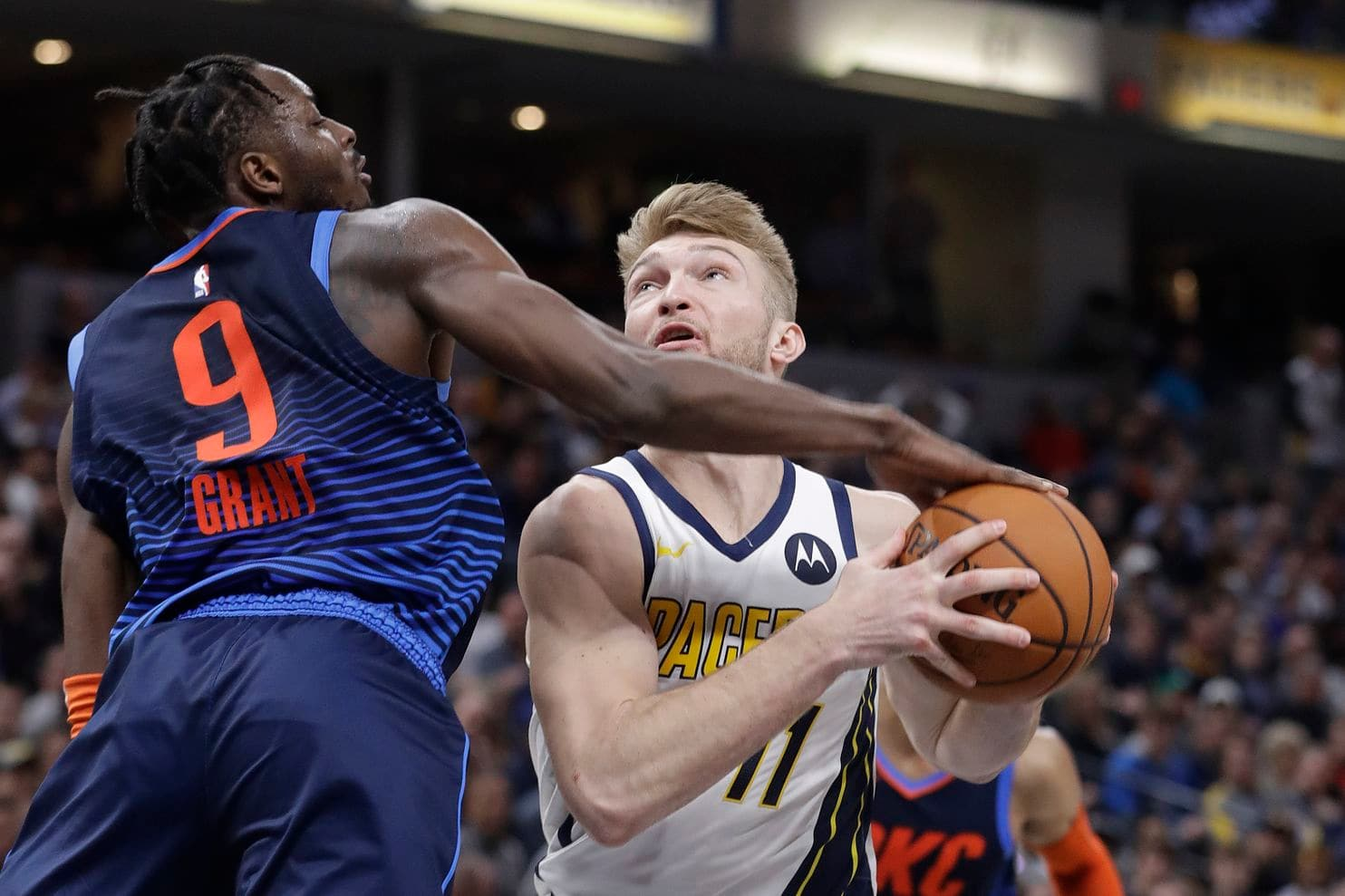Pacers rally to beat Thunder in last second