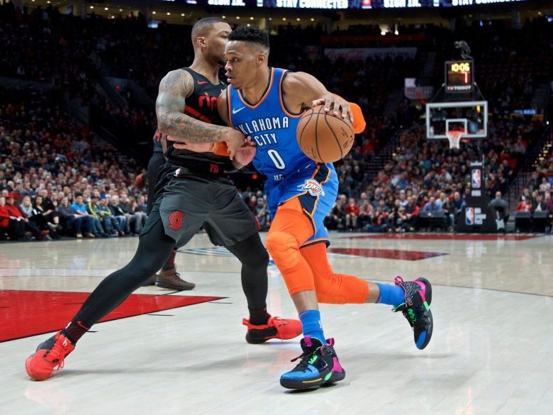 Thunder victorious over Portland Trail Blazers