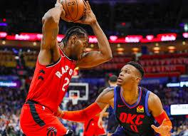 Toronto Raptors beat Thunder 123-114 in overtime