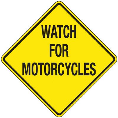 With Spring comes more motorcycles — watch out!